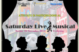 SATURDAY LIVE MUSICAL TORINO 2015